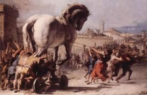 رياض متقلون يكتب عن حصان طروادة الأخطر والخراتيت.